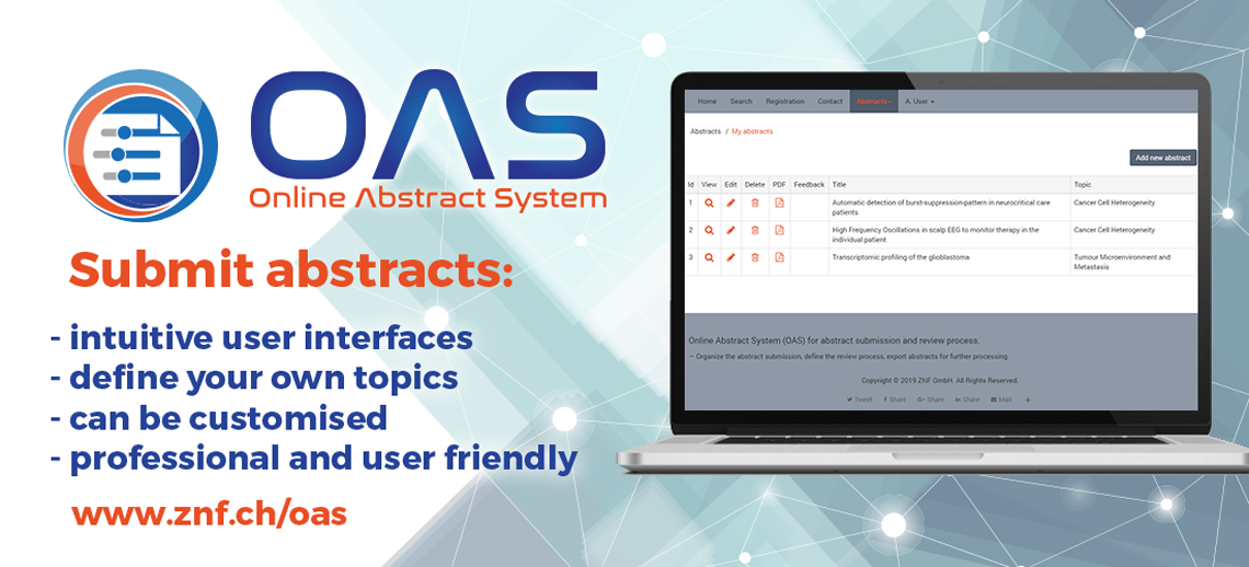 OAS - submit abstracts